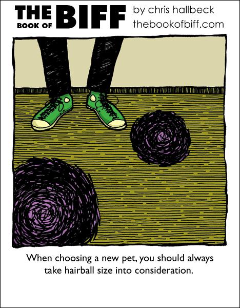 #57 – Hair Ball
