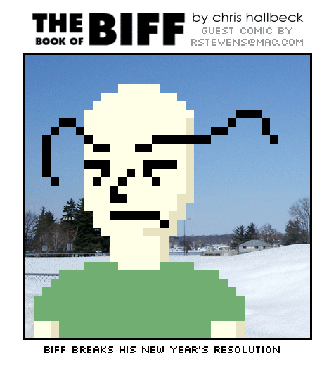 Guest comic by R Stevens