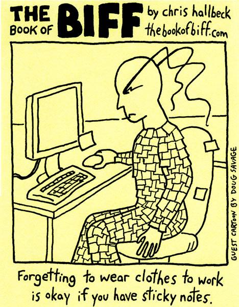 Guest comic by Doug Savage