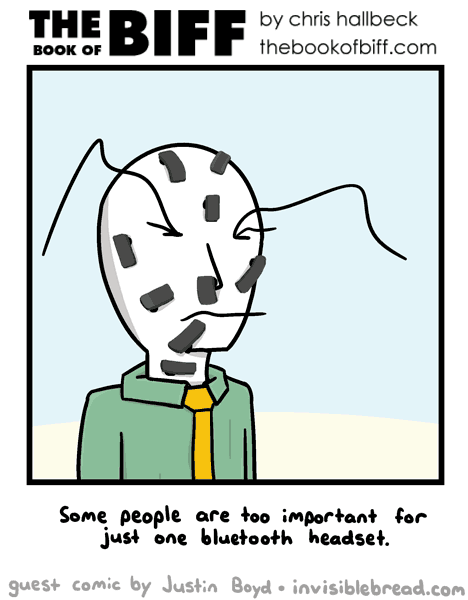 Guest Comic by Justin Boyd